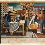 Security of the People (Study for mural, Old Social Security building, Washington, D. C.)