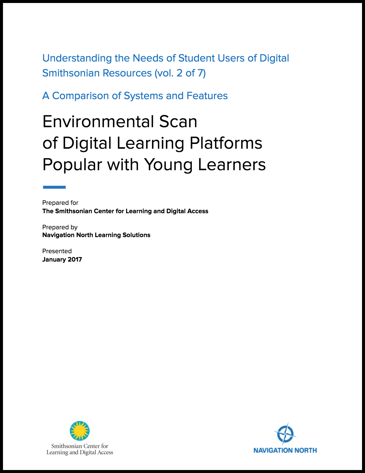 Environmental Scan of Digital Learning Platforms Popular with Young Learners