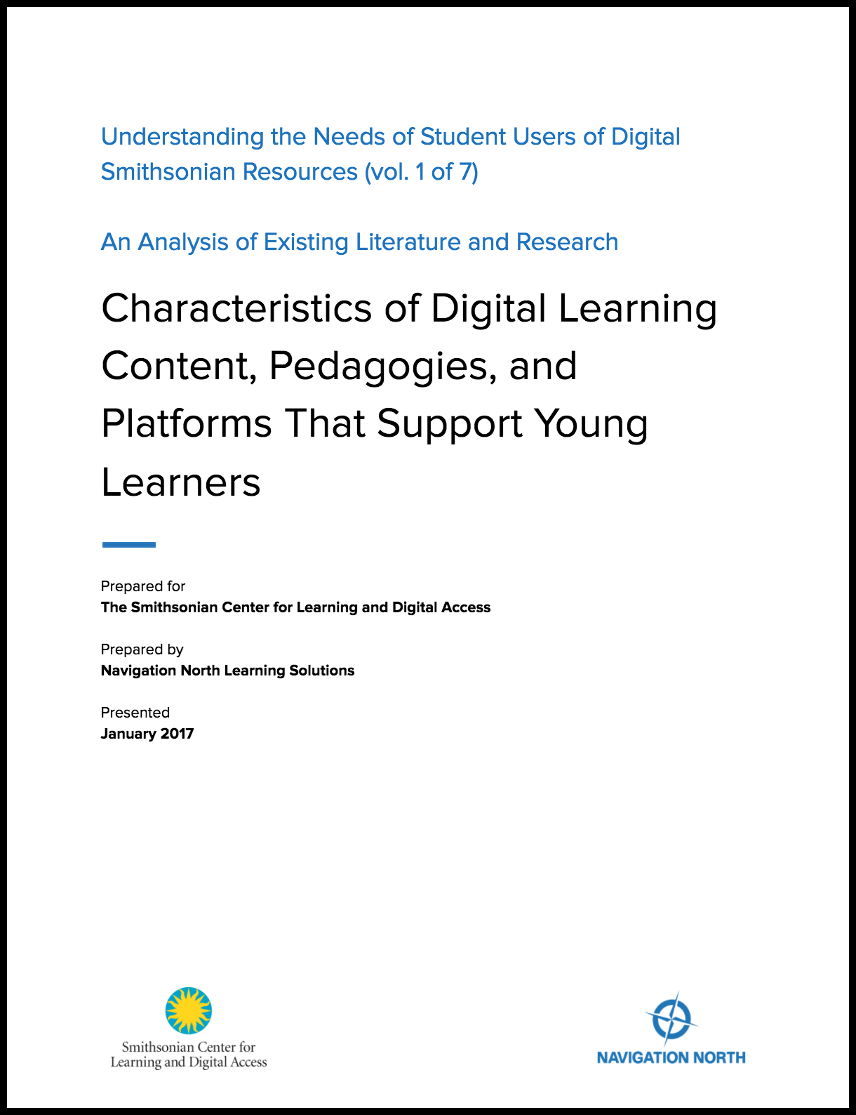 Characteristics of Digital Learning Content, Pedagogies, and Platforms That Support Young Learners