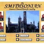 Smithsonian homepage in 1995